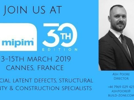 The Build-Zone team are going to MIPIM, Cannes this week. Are you?
