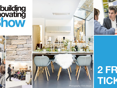 Come and see us at the Homebuilding & Renovating Show