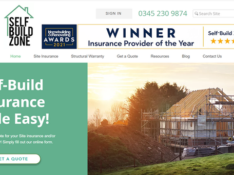 New website for Self-Build Zone!
