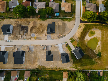 Increase in new build homes starts as UK prices rise
