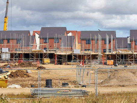 Housebuilding in England hits highest level since 2007