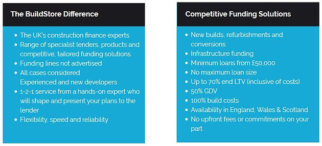 Looking for Property Development Finance? BuildStore