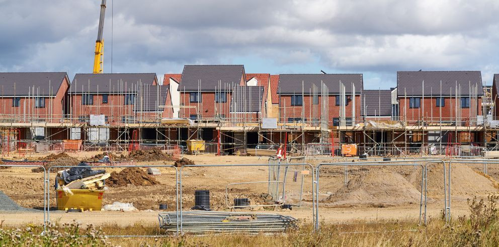 UK housebuilding figures increase