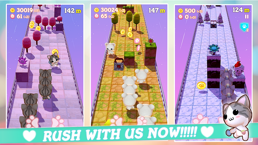 A super cute rush game