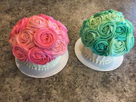 Twins Smash Cake