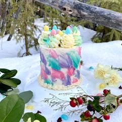 Mini Egg Swirl Easter Mini Cake
