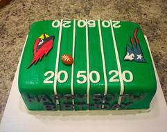 Football Birthday Cake