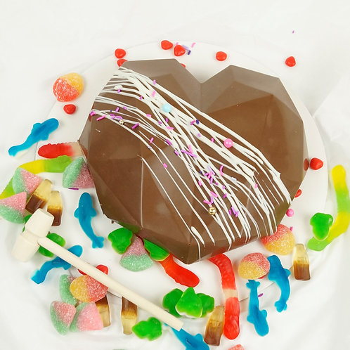 Milk Chocolate Smash Heart
