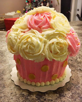 Little Girl Smash Cake