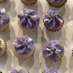 Purple Unicorn Cupcake