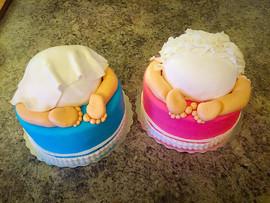 Baby Bum Duo Cake