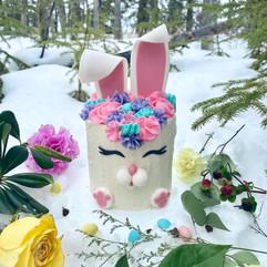 Bunny Easter Mini Cake