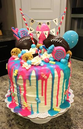Fun Baby Shower Cake