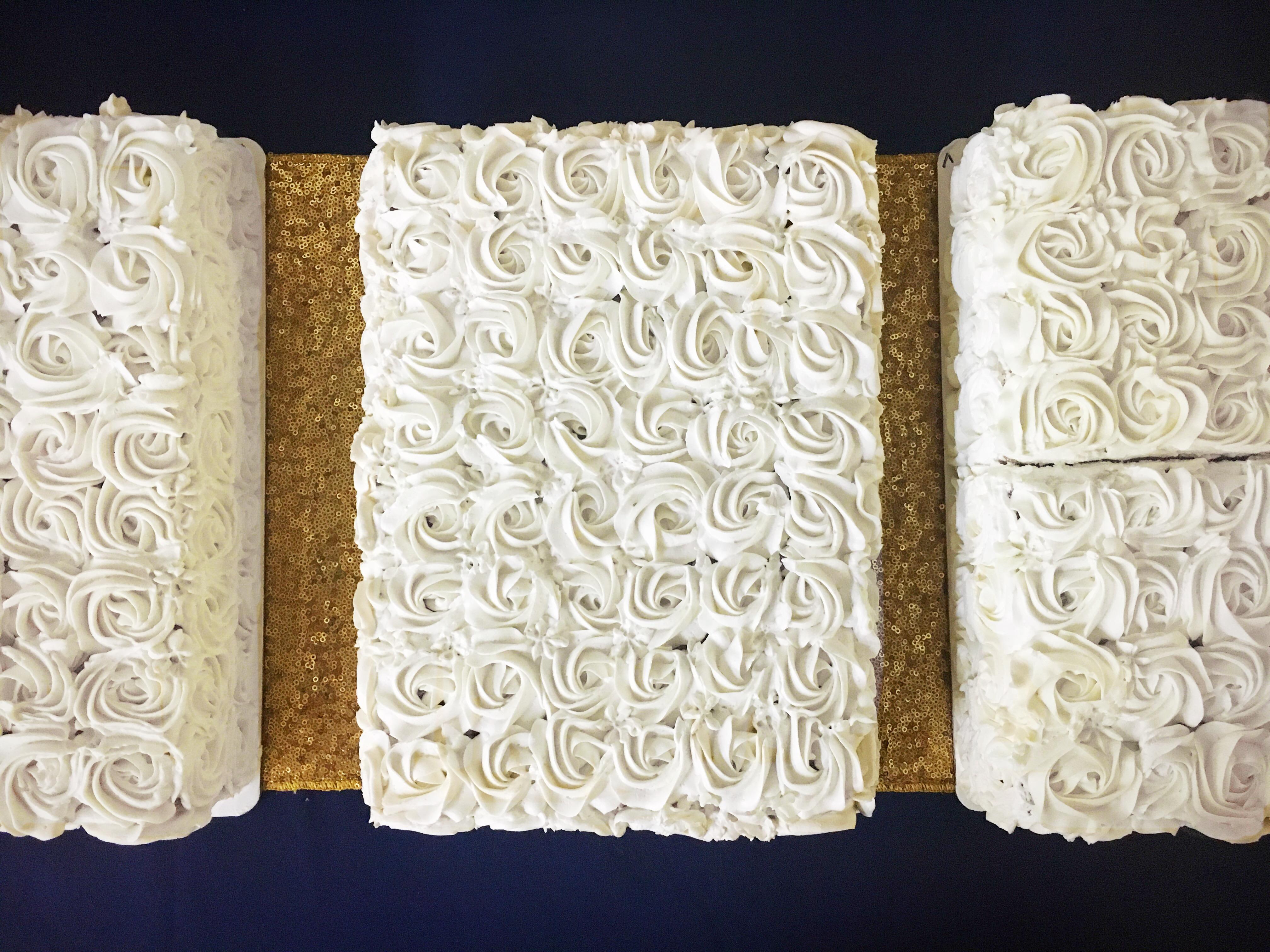 Chocolate & Vanilla Sheet Cakes