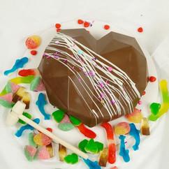 Milk Chocolate Smash Heart with Gummies