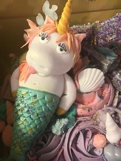 23rd Birthday Unicorn Mermaid Cake