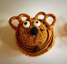 Deer cupcake