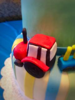 Baby Shower Cake - Custom Train