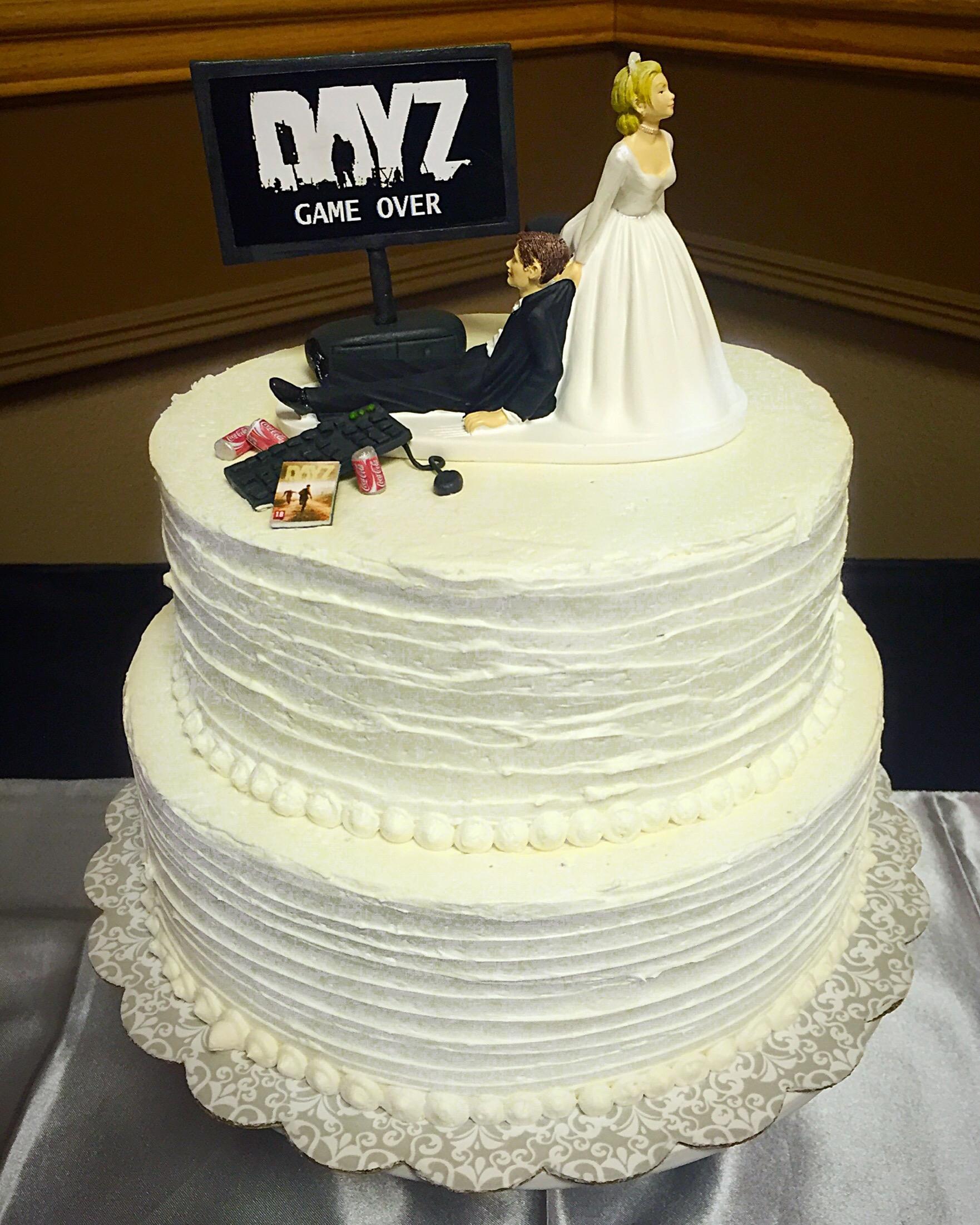 DayZ Wedding Cake