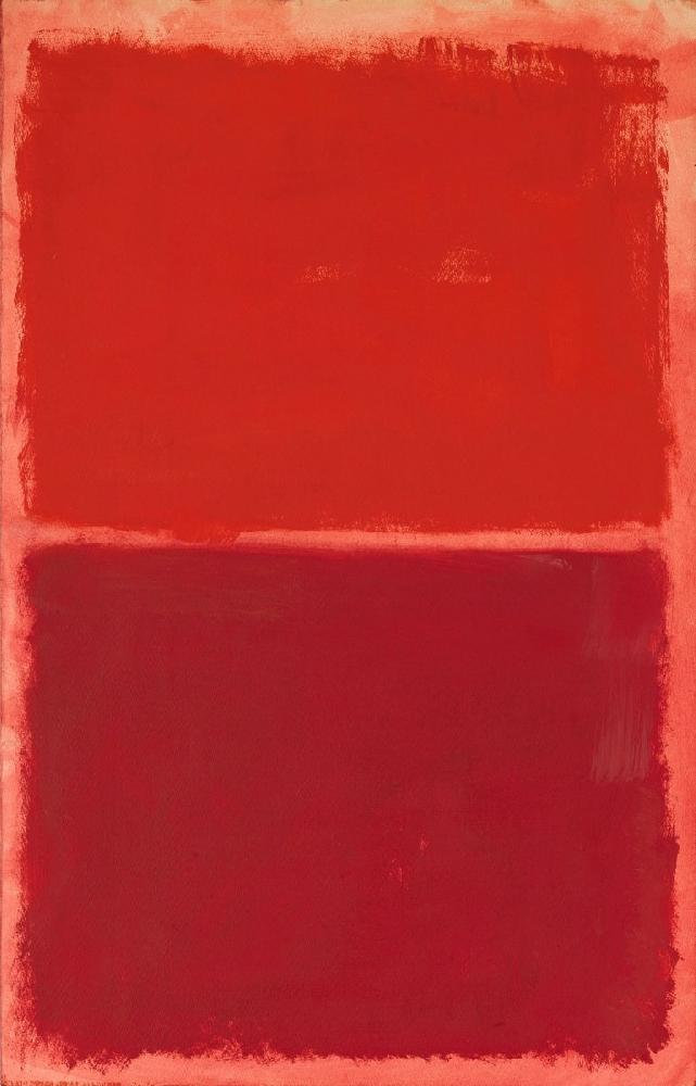 "Rothko's ""Orange and Red on Red"""