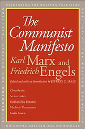 The Communist Manifesto by Karl Marx and Friedrich Engels book cover
