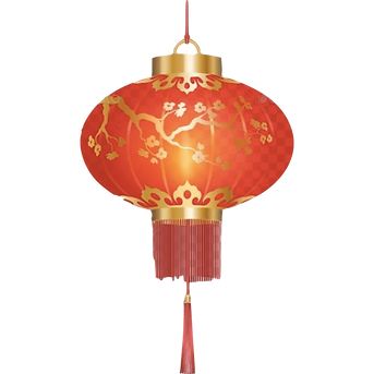 An illustration of a chinese lantern