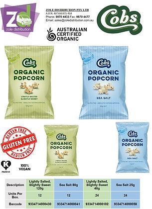 Cobs Organic Popcorn