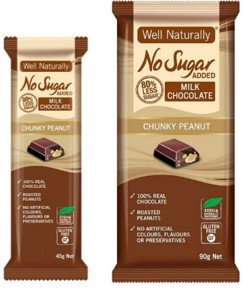 Well Naturally Milk Chocolate 45g & 90g