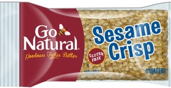 Go Natural Sesame Crisp 40g