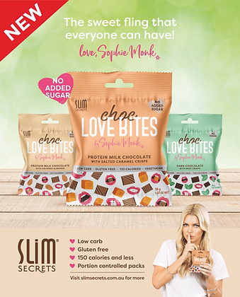 Slim Secrects Choc Love Bites