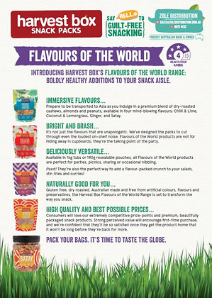 Harvest Box Flavours of the World