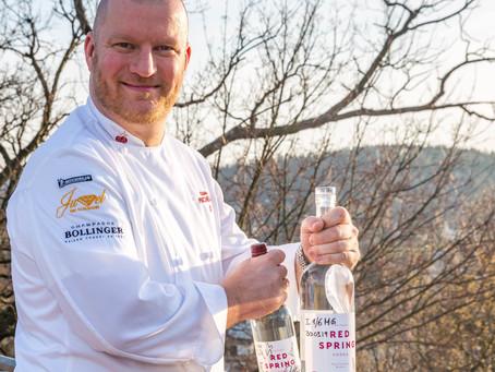 Premiere für unsere Magnumflasche Vodka Red Spring