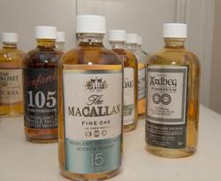 Mini Scotch Bottles