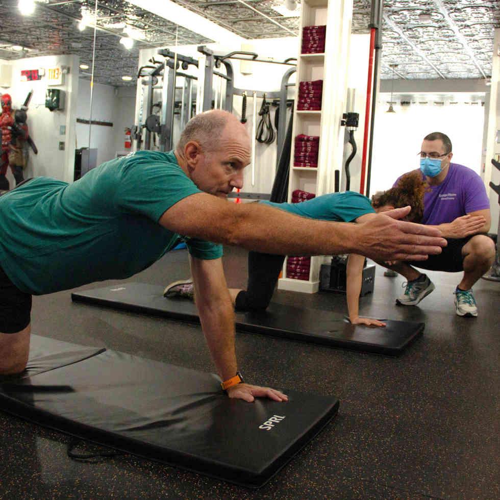 Partner Personal Training Eppinger Fitness 2