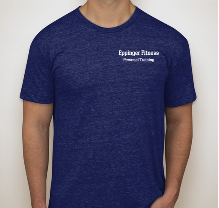 Eppinger Fitness T-Shirt Dark Blue