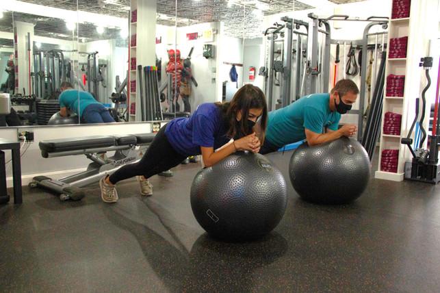 Planks on a Ball