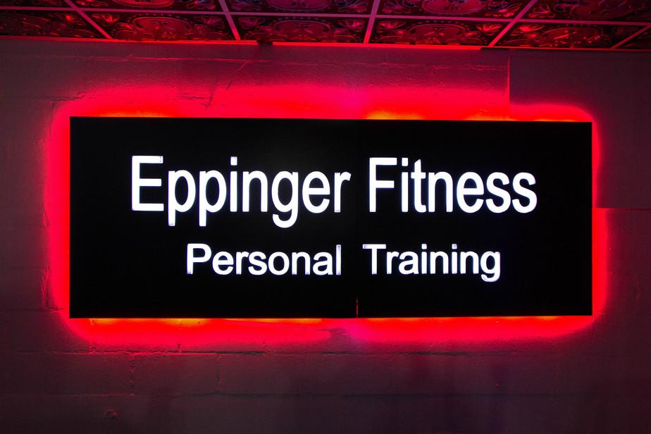 Eppinger Fitness LED Sign