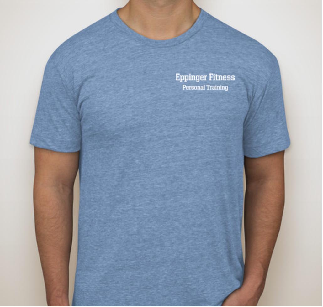 Eppinger Fitness T-Shirt Light Blue