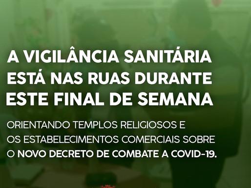 VIGILÂNCIA SANITÁRIA NAS RUAS