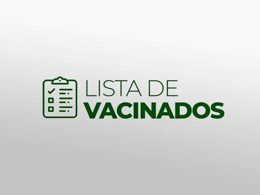 Lista de Vacinados