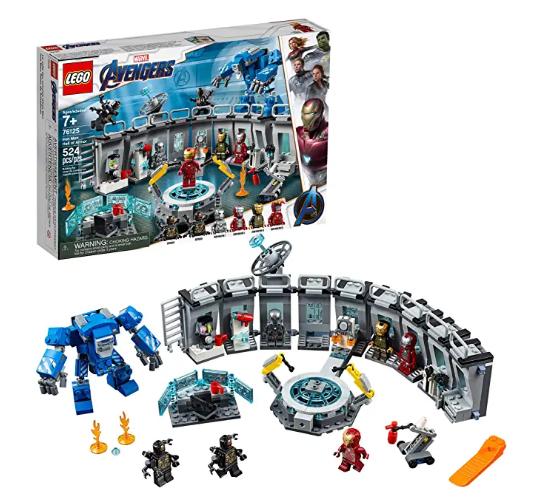 LEGO Marvel Avengers Iron Man Hall of Armor