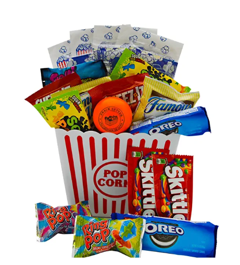 Ultimate Movie Night Gift Bundle Care Package