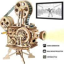 ROKR Vitascope 3D Wooden Puzzle Mechanical Model