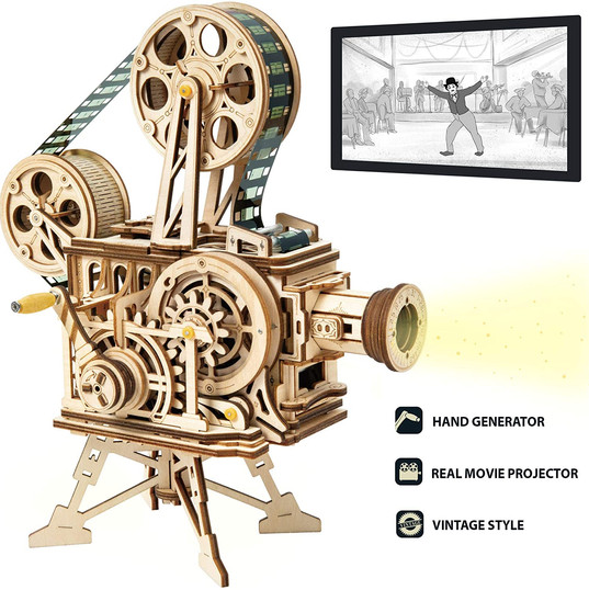 ROKR Vitascope 3D Wooden Puzzle Mechanical Model
