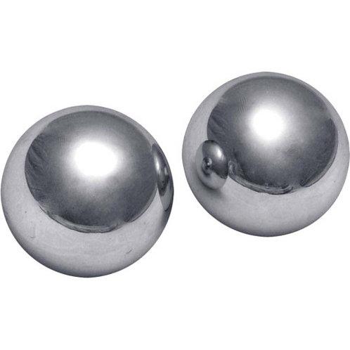 Master Series: Titanica Extreme Steel Orgasm Balls