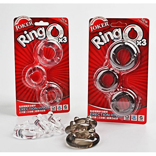 Joker Erection Rings Set