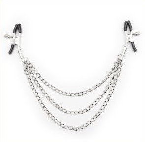 Three Chain Nipple Clamp