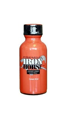 JJ- 30ml Iron Horse / Leather Cleaner