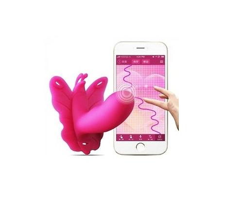 Realov Lydia Smart Butterfly App Control Strap-on Vibrator