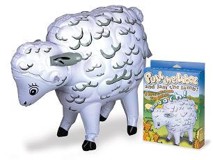 Inflatable Sheep With Voice